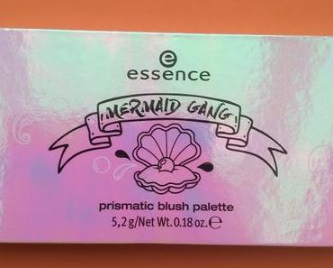 [Werbung] essence Mermaid Gang Prismatic Blush Palette 01 99% Mermaid