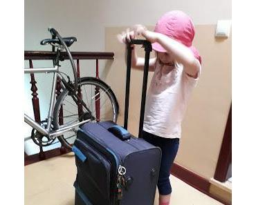 Die erste Kitareise der Kleinen im Mai 2018