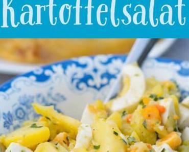 Schneller Kartoffelsalat mit oder ohne Creme Fraiche