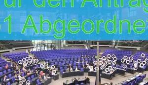 """Skandal: """"Demokratische"""" Abstimmung Deutschen Bundestag"""