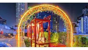 besten Rooftop Bars/Restaurants Bangkok