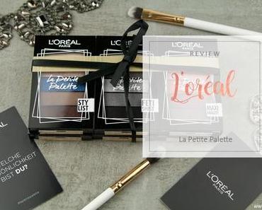 L'Oréal - La Petite Palette - Review & Swatches