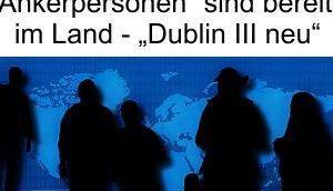 """Merkels """"Europäische Lösung"""" heißt neues Dublin Abkommen, alle Migranten kommen unregistriert weil Deutschland """"Ankerpersonen"""" besitzt"""