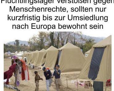 Plant Amnesty International große Umsiedlungsaktionen von Afrika nach Europa?