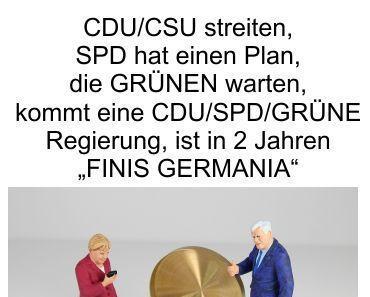Bananenrepublik Deutschland: CDU/CSU streiten und die SPD erarbeitet einen Merkel konformen, migrationsfreundlichen 5 Punkte Plan
