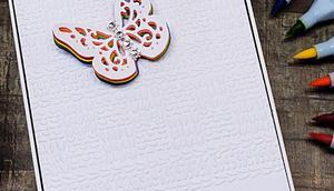 Rainbow Butterfly Card Mit-Mach-Freitag Crafter's Companion [Werbung]
