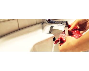 5 einfache Tipps, um deine Stoffbinde zu reinigen