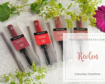 Revlon - Colorstay Overtime Lipcolor - Swatches
