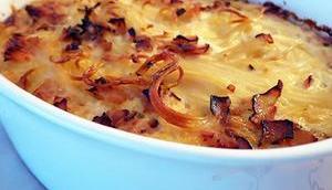 Carbonara-Kuchen nach Jamie Oliver