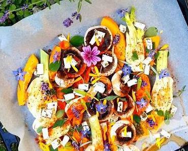 Sommerliches Backofengemüse auf WildeWeiberArt
