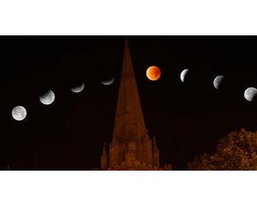 Mondfinsternis mit Blutmond am kommenden Freitag