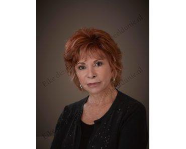 Die chilenische Schriftstellerin Isabel Allende