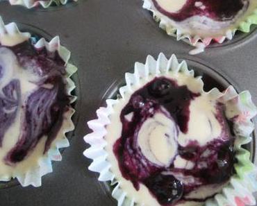 So luftig… so lecker… so blau… American Blueberry Muffins mit Buttermilch