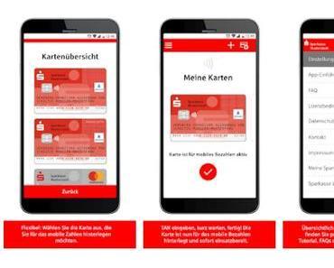Sparkasse startet kontaktloses mobiles Bezahlen