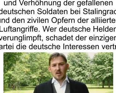 Niedersachsens JA Vorsitzende Lars Steinke verunglimpft den deutschen Helden Oberst Stauffenberg und verrichtet der einzigen deutschfreundlichen Partei einen Bärendienst