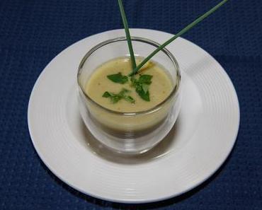 Gaspacho aus gelben Tomaten (vegan)