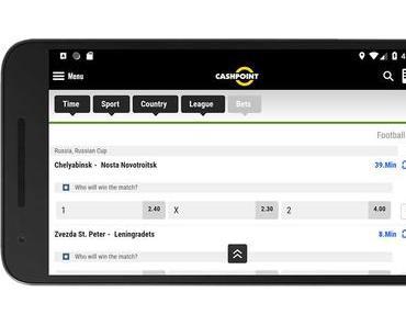 Die Cashpoint App im Test