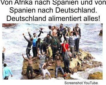 Jeder über das Asylrecht nach Deutschland Einwandernde erhält monatlich ca. 400 Euro, kostenlos nutzbare Wohnung und alle Sozialleistungen, lebenslang