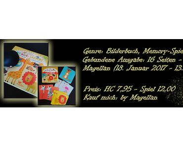 .: Rezension ~ Die bunte Safari - Pappbilderbuch und Maxi-Memo :.