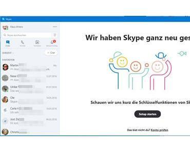 Skype 7 läuft doch noch weiter