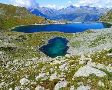 Vier Seen und ein Gipfel