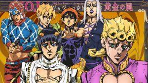 Video Details Premiere JoJo's Bizarre Adventure: Golden Wind veröffentlicht