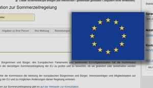 blamable EU-Umfrage Zeitumstellung