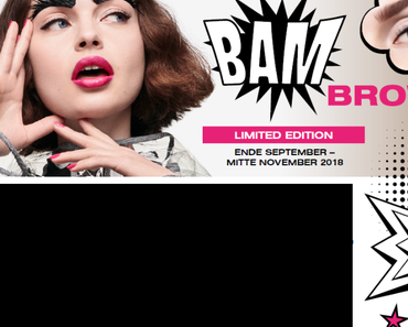 "Catrice Limited Edition ""BAM BROW"""