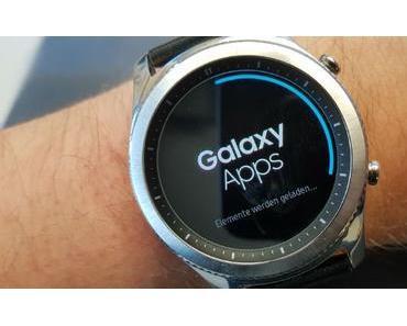Samsung Gear S3 classic/frontier erhalten neues Firmware-Update