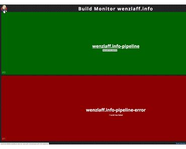Jenkins Pipeline mit coolen BuildMonitor in Docker in unter 15 Minuten erstellen