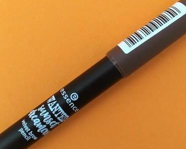 [Werbung] essence wanted: sunset dreamers velvet brow pencil 01 sunshine on my mind (LE) + The Glitter Labs #LashandBrowBooster :-)