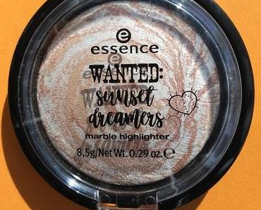 [Werbung] essence wanted: sunset dreamers marble highlighter 01 golden summer days (LE)