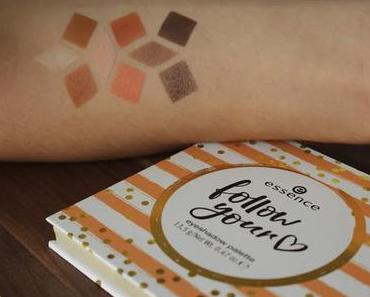 essence follow your heart eyeshadow palette Swatches und Review