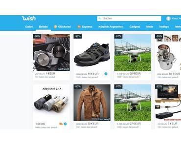 Online-Einkäufe bei Wish können teuer werden