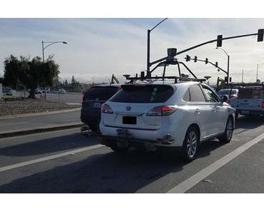 Unfall zeigt: Apple testet autonome Autos