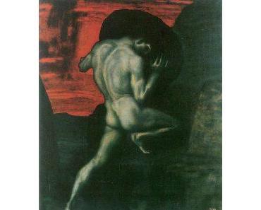 Sisyphos und der Felsbrocken