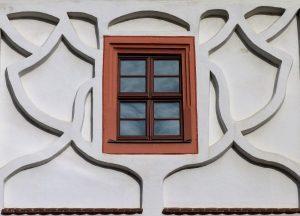 Klassische Holzfenster Eigenheim
