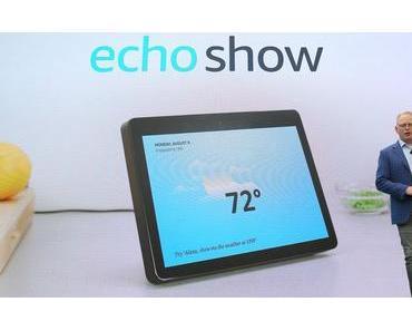Amazon Echo Show: Neue Generation mit ZigBee- und Skype-Support