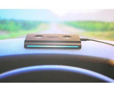 Amazon Echo Auto: Alexa macht es sich im Auto gemütlich