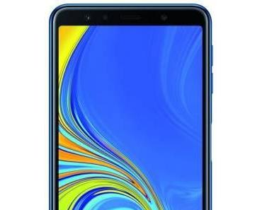 Samsungs Galaxy A7 kommt mit Dreifach-Kamera