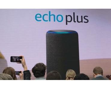 Amazon Echo Dot und Echo Plus offiziell vorgestellt