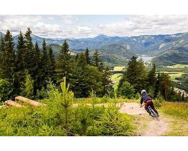 Staats- & Europameister Markus Pekoll beim Downhill Race auf den BikeAlps | Bürgeralpe Mariazell