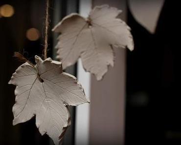 DIY: Herbstbasteleien mit Kindern - Wunderschöne Herbstblätter-Dekorationen - kinderleicht