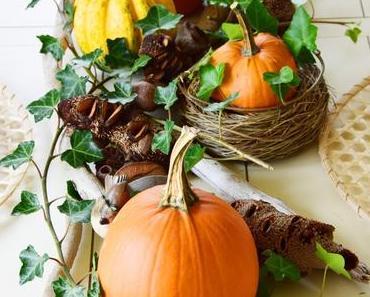 Der Herbst ist da ... genauso wie meine Energie und ganz viel Kürbis-Dekoideen für euch!
