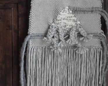 Interior DIY – Wandteppich weben – Kettfäden Anleitung