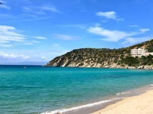 Strandtipp - sehr schoener Strand - Spiaggia di Solanas, Sinnai