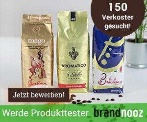 [Ankündigung] Produkttest bei Brandnooz mit Aromatico