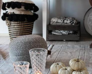 DIY Kürbis Teelicht – Herbst Dekoidee