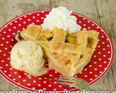 Noch mehr vom Apfelglück: Mein Apple Pie à la Mode mit Cranberries