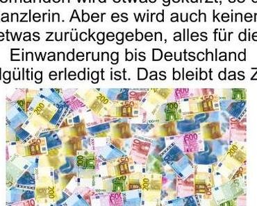 Mal eben weitere 15 Milliarden Euro Steuergeld für die Migration, aber es wird keinem etwas weggenommen